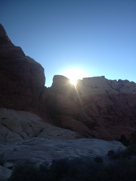 Red Rock Morning