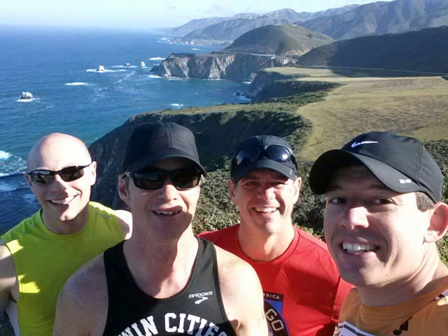 Big Sur Group Selfie